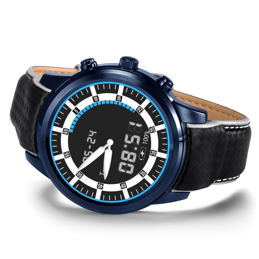 LEMFO LEM5 PRO Watch Phone-1 IMEI, 3G, WiFi, Music, Pedometer, Heart Rate, Android OS - 7