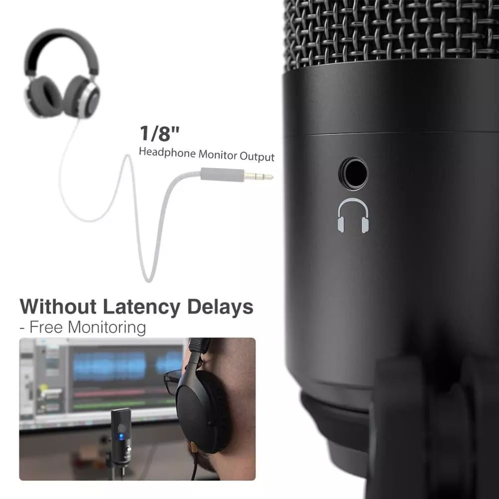 Microphone USB K670 pour ordinateur - 2