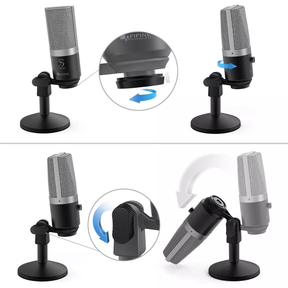 Microphone USB K670 pour ordinateur - 6