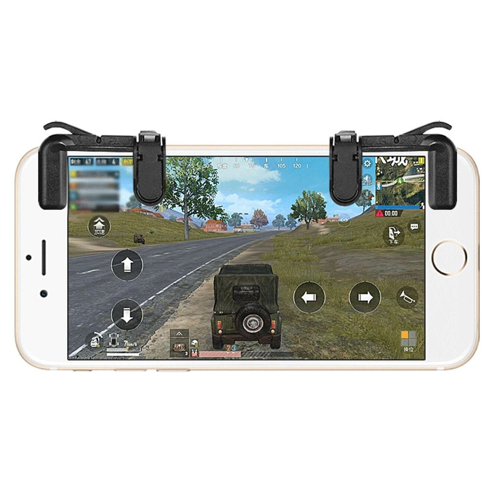 Mobile Phone Gaming Fire Button Trigger L1R1 Shooting Controller - 2