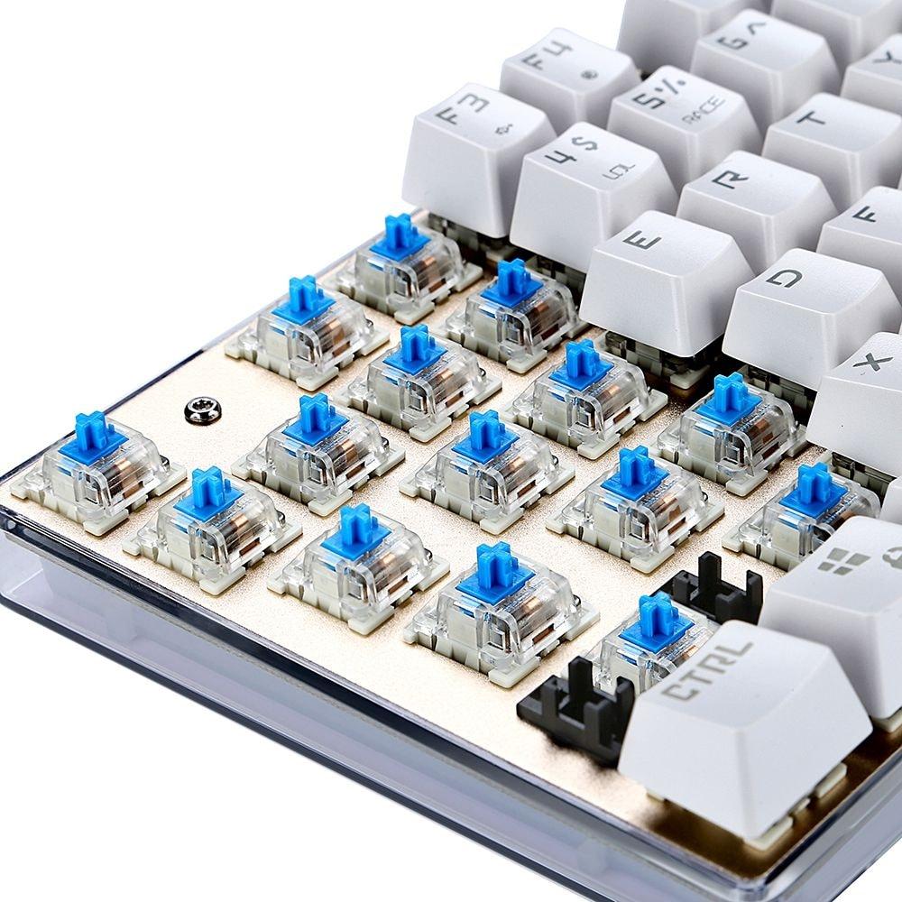 Motospeed K87S NKRO Mechanical Keyboard with RGB Backlight BLUE SWITCH - 9
