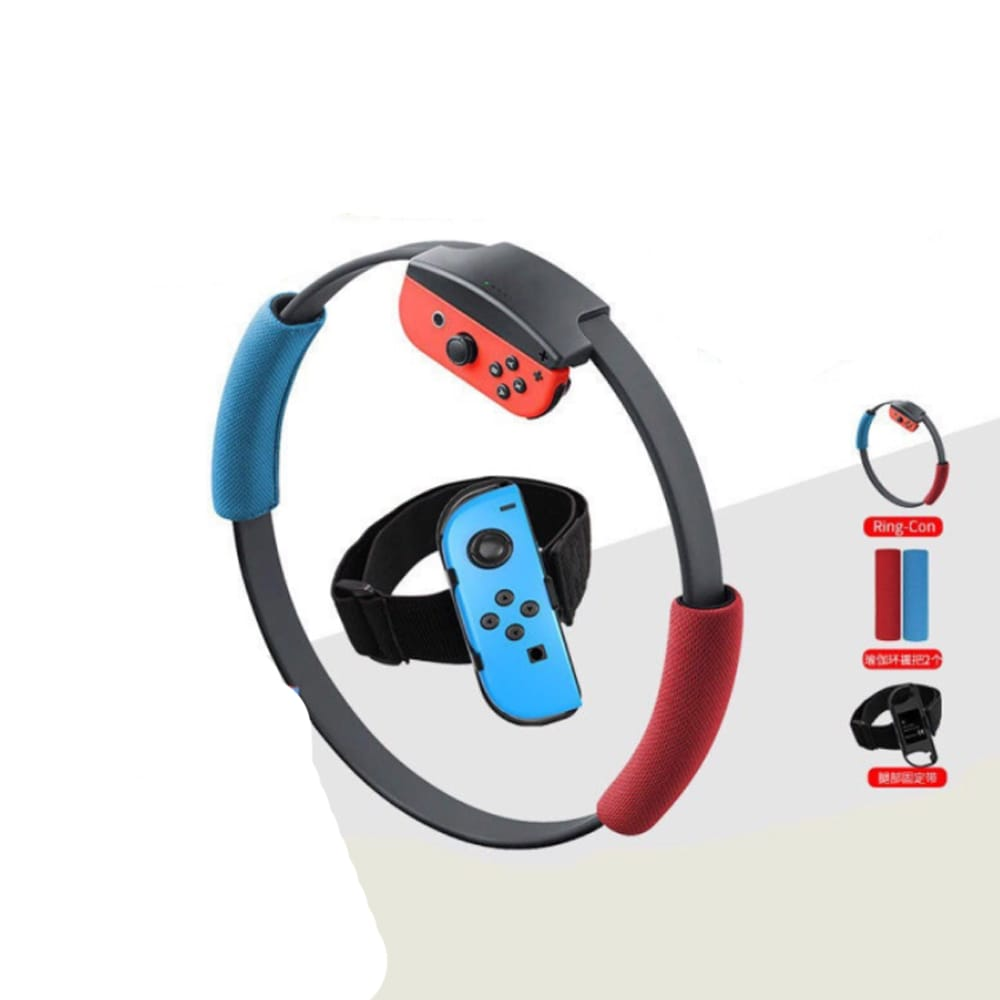 Nintendo Switch without Games Fitness Ring Adventure Ring Fit Exercise Yoga Ring+Leg Band - 6