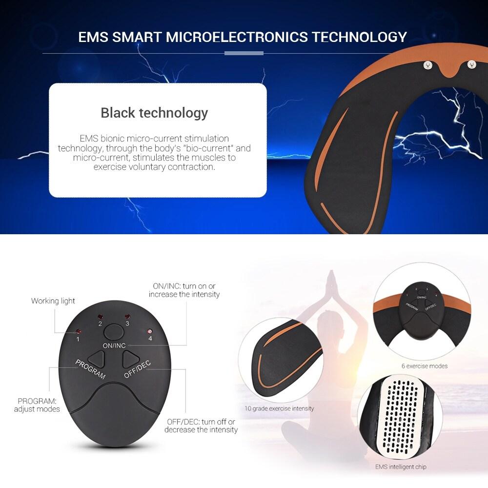 Original Beauty Massage EMS Hip Trainer Buttock Lifting Stimulating Muscle - 9