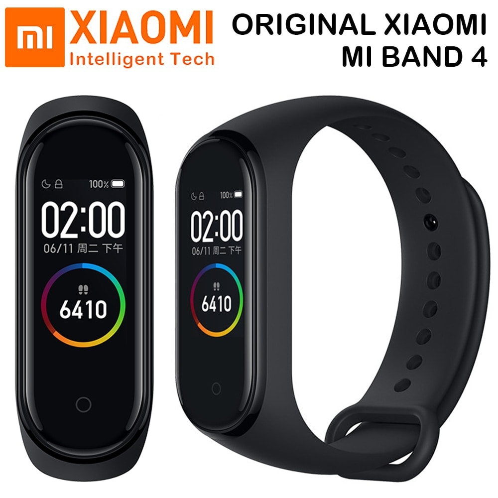 Original Xiaomi Mi Band 4 Black - 1
