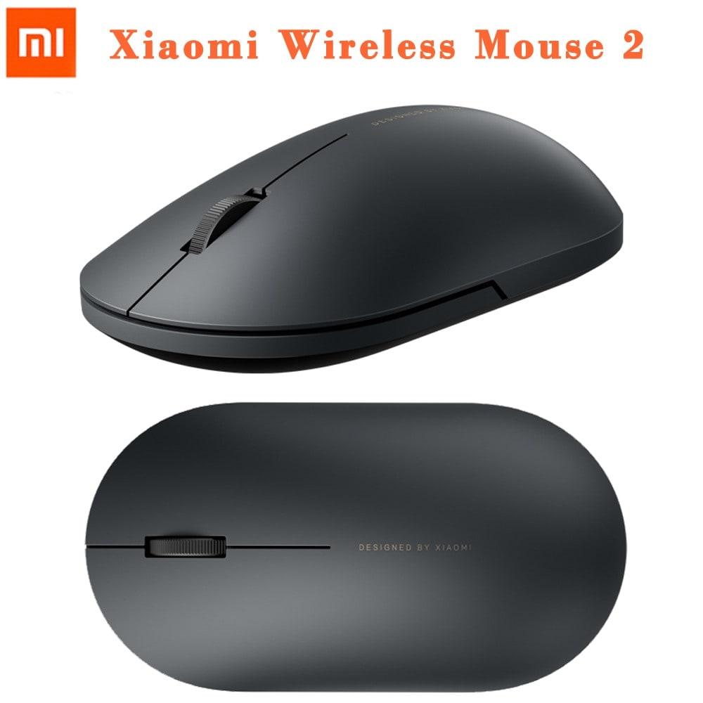 Original Xiaomi Mi Portable Wireless Gaming Mouse Black - 1