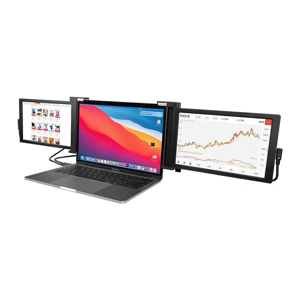 Portable Triple Laptop Monitor Display - 1