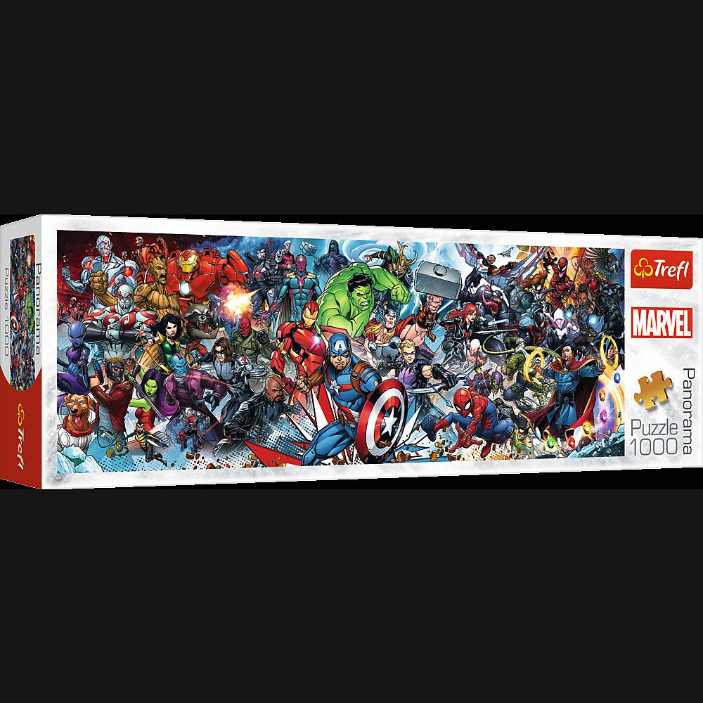 Puzzle - Dołącz do Uniwersum Marvela - 1000 el. Multi-Colored - 1