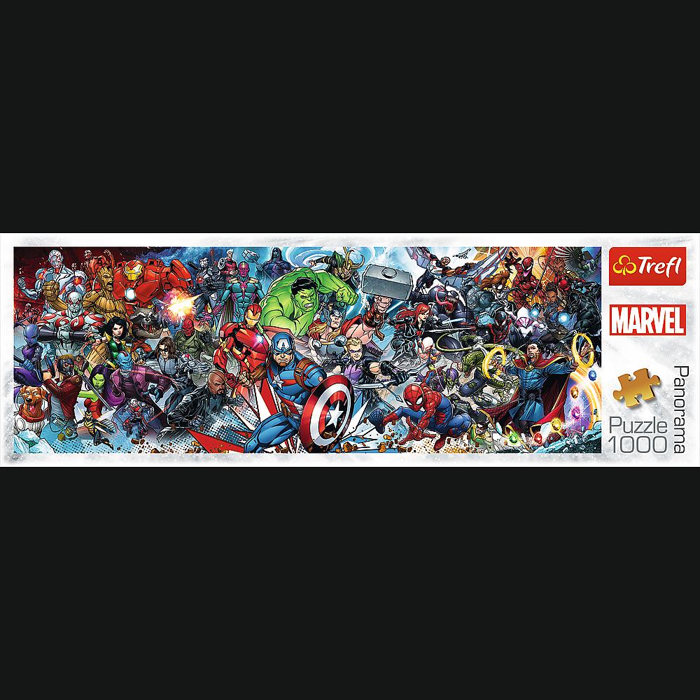 Puzzle - Dołącz do Uniwersum Marvela - 1000 el. Multi-Colored - 2