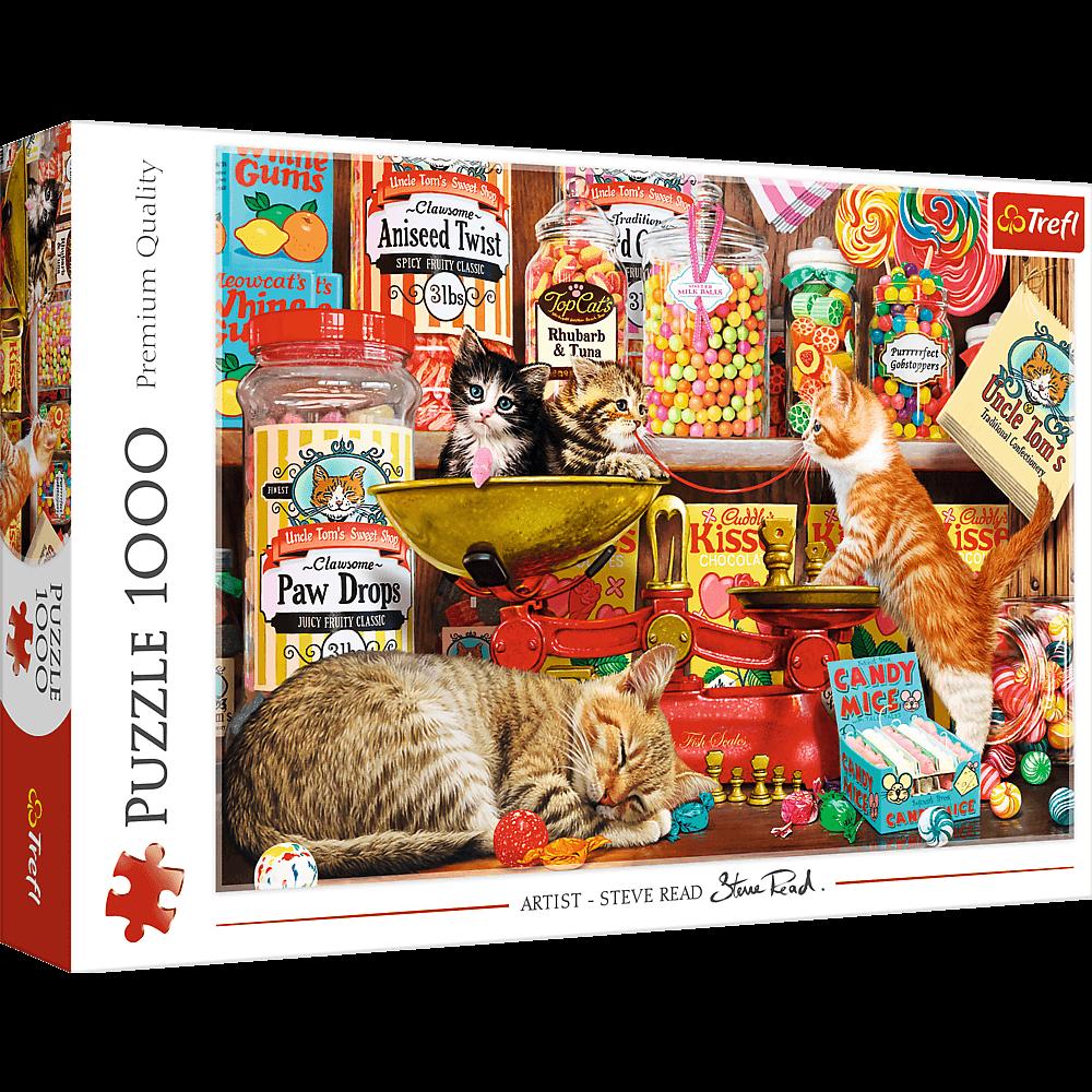 Puzzle - Kocie słodkości - 1000 el. Multi-Colored - 1