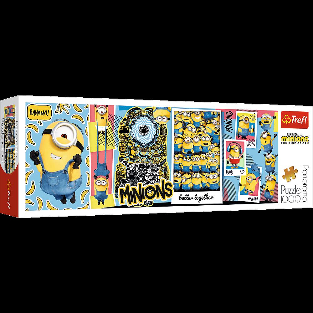 Puzzle - Minionki - 1000 el. Multi-Colored - 1