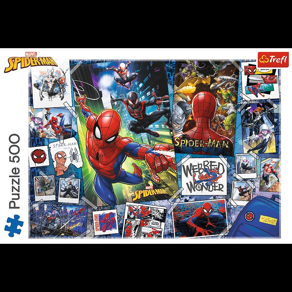 Puzzle - Plakaty z superbohaterem - 500 el. Multi-Colored - 2