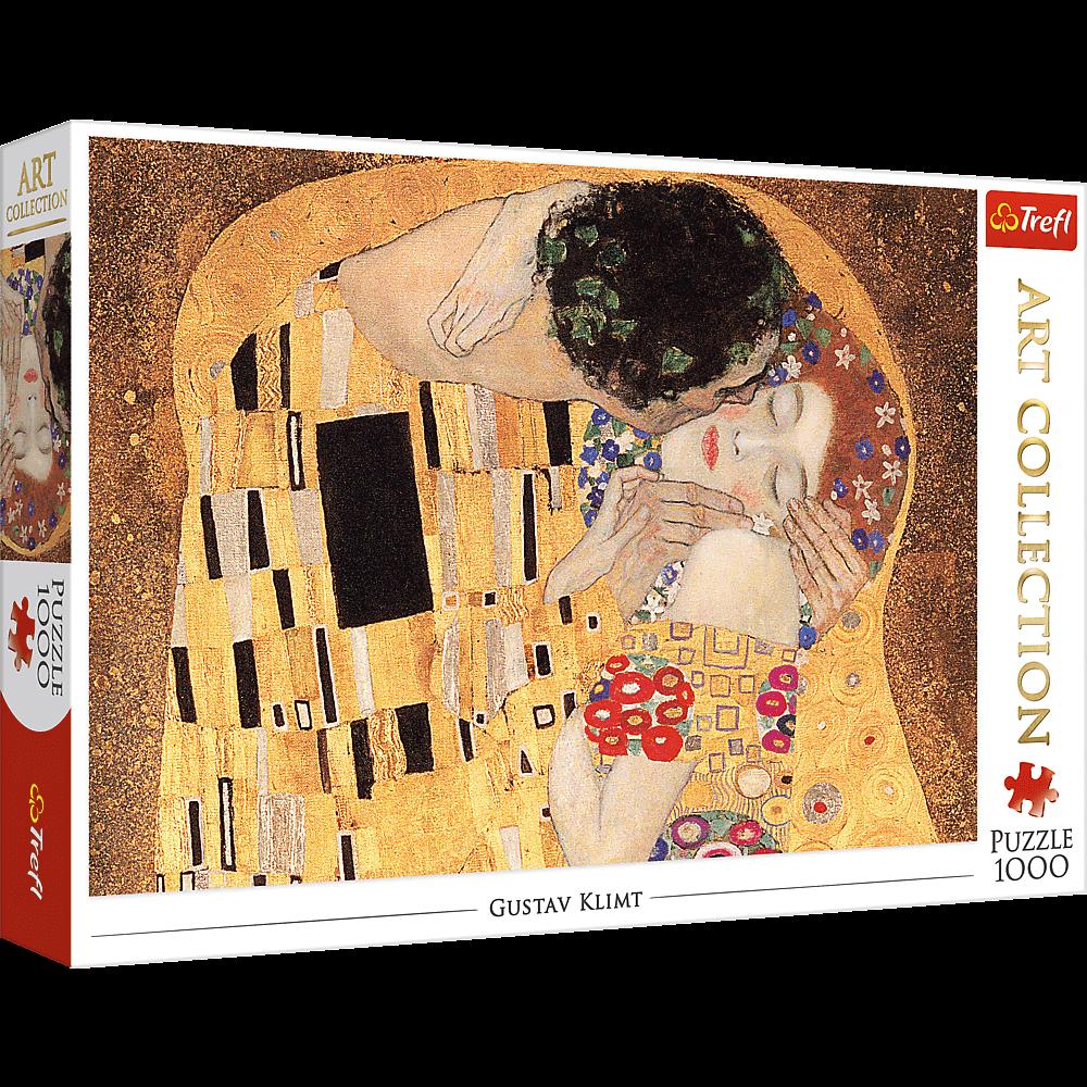 Puzzle - Pocałunek - 1000 el. Multi-Colored - 1