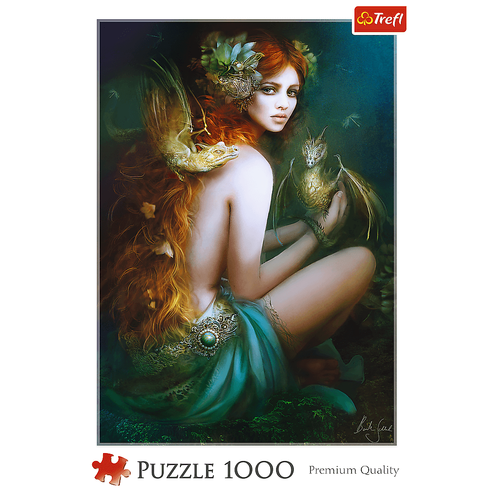 Puzzle - Przyjaciółka Smoków - 1000 el. Multi-Colored - 2
