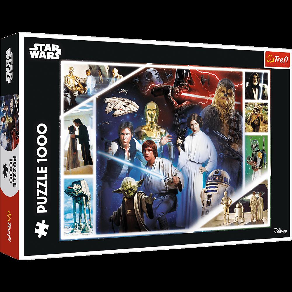 Puzzle - W odległej galaktyce - Star Wars - 1000 el. Multi-Colored - 1