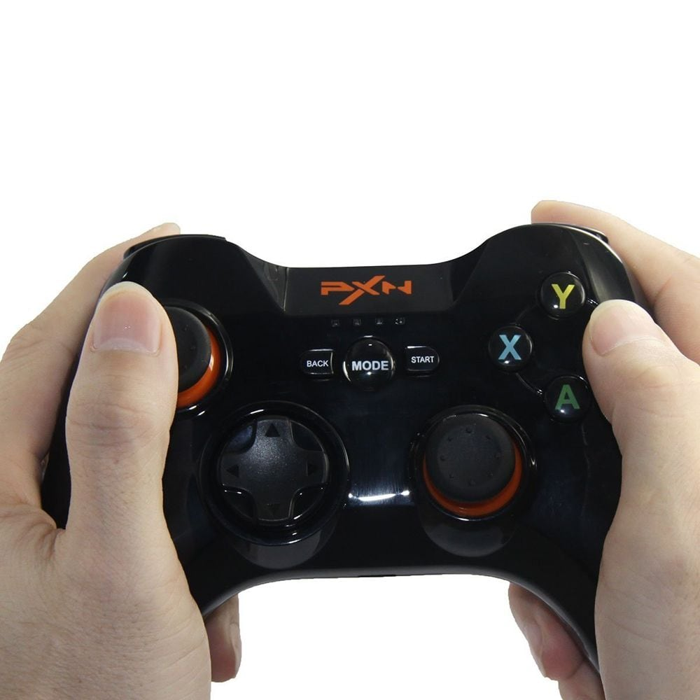 PXN - 9613 Wireless Bluetooth Game Controller Removable Handle Bracket Gamepad - 5