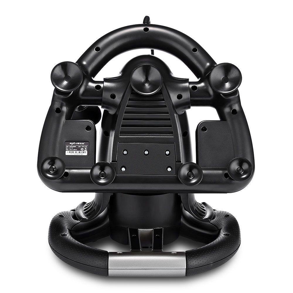 PXN V3II Racing Game Steering Wheel with Brake Pedal - 3