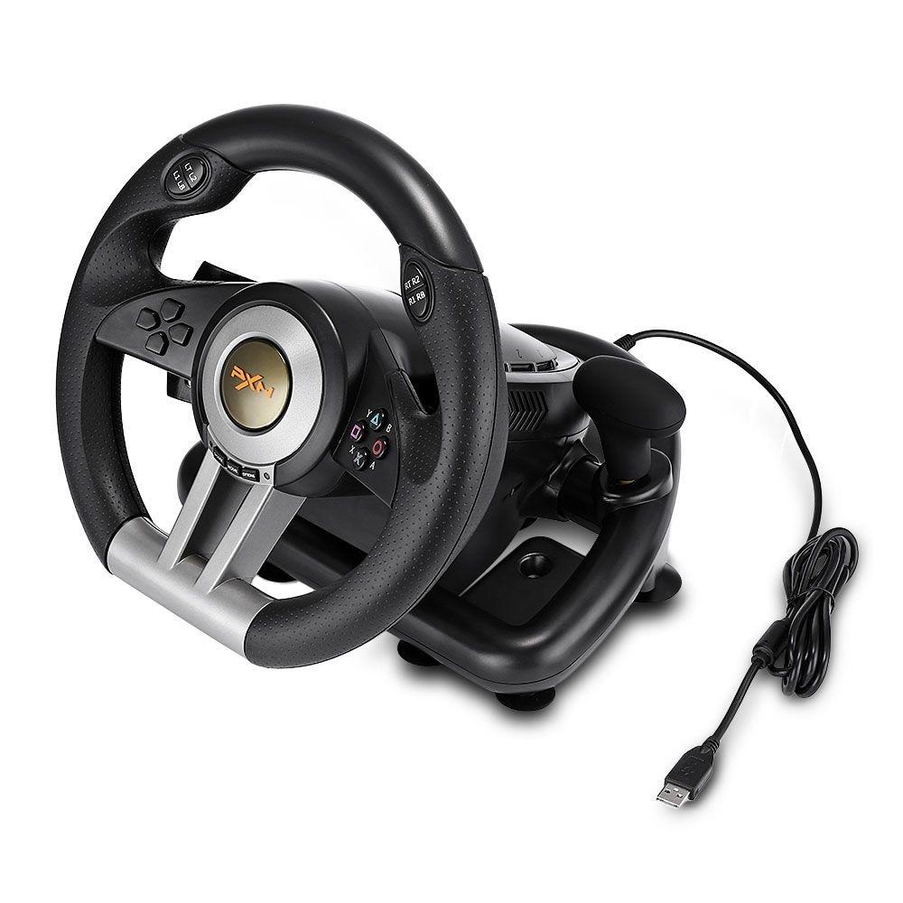 PXN V3II Racing Game Steering Wheel with Brake Pedal - 6