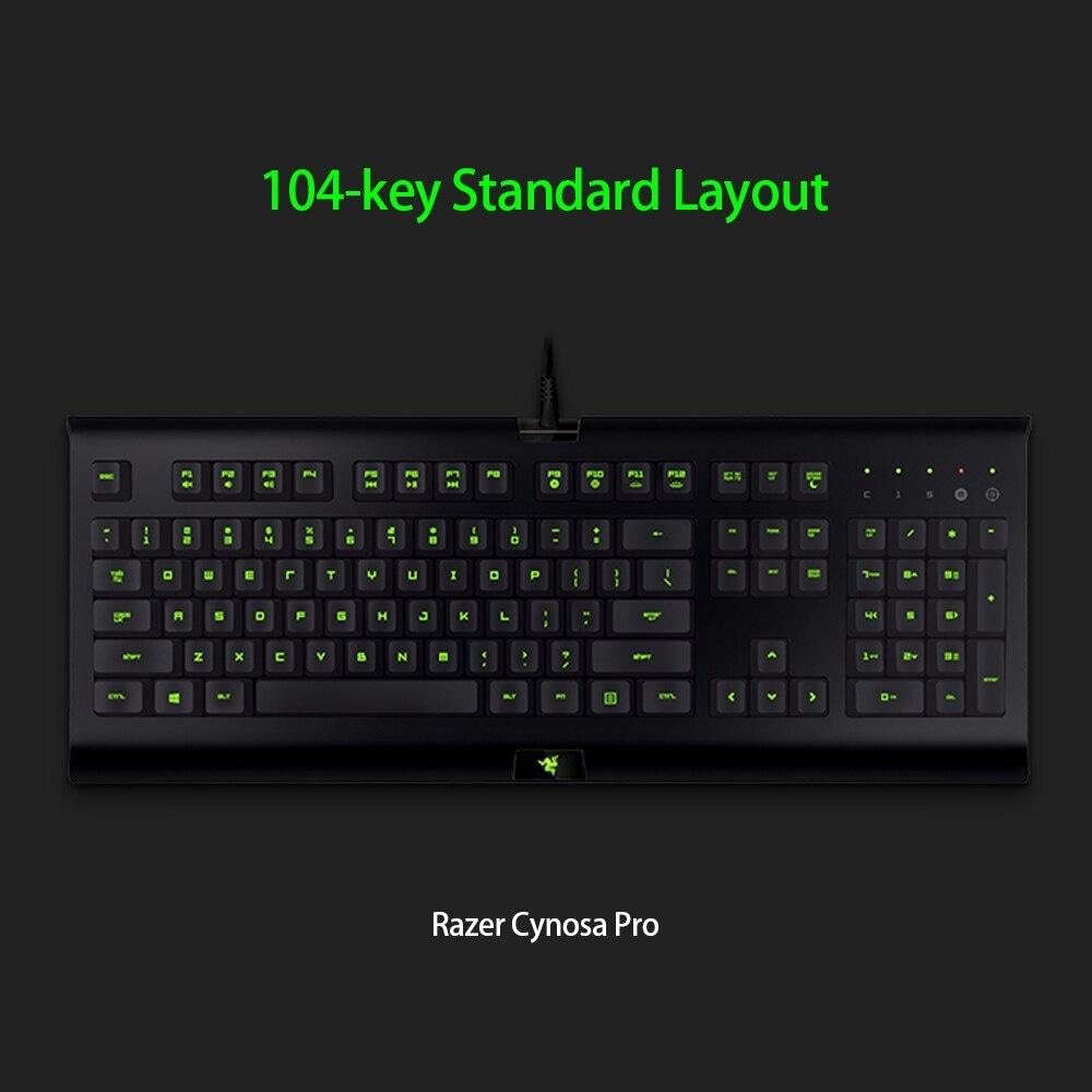 Razer Cynosa Pro Keyboard and Razer DeathAdder 2000 Mouse Combo Gaming Set 3 Black - 4
