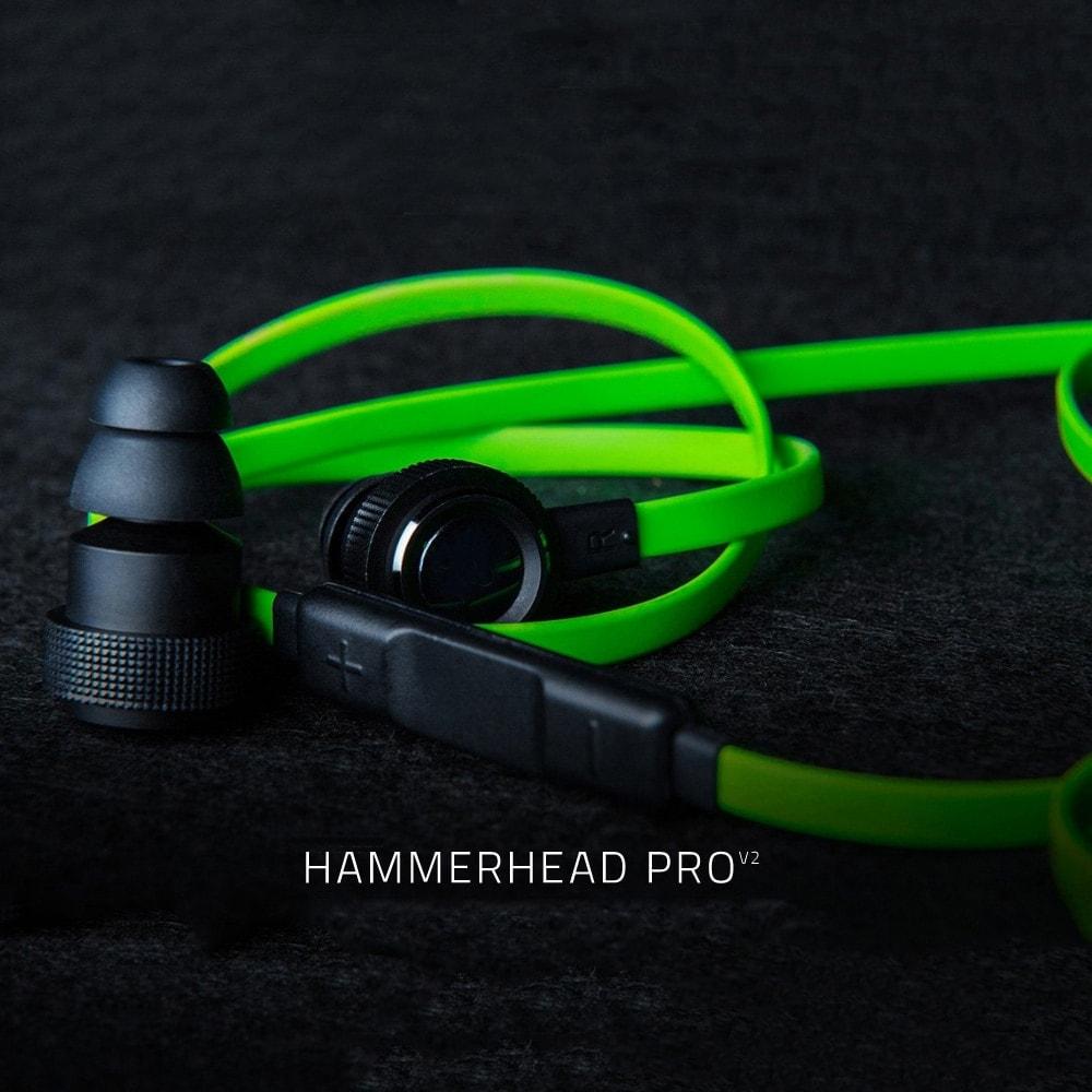 Razer Hammerhead Pro V2 Earphone With Microphone Black - 6