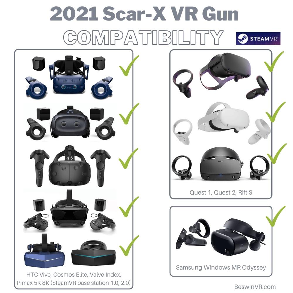 Scar-X Karabin Haptyczny do Oculus Quest 1 i 2 - 7