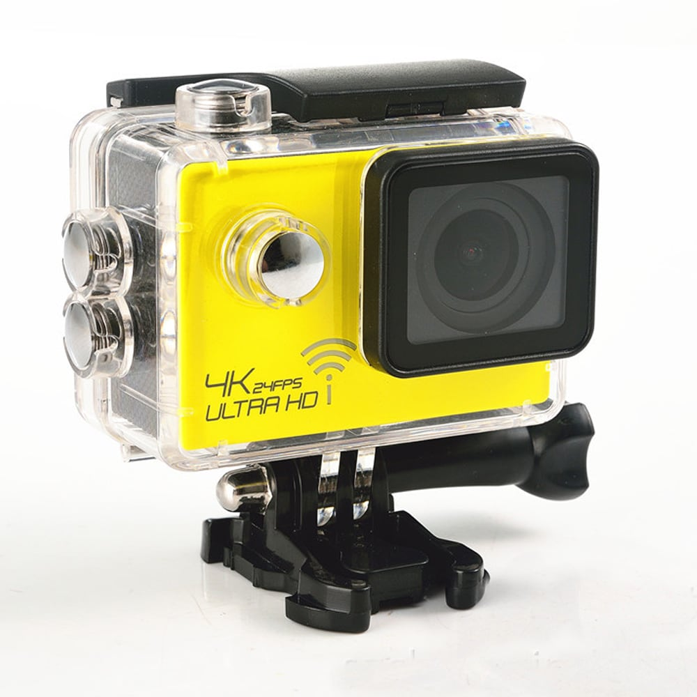 SJ8000 2.0 Inch Sport Action Camera - HD 4K 1080P, Wifi, DV 170 Degree Wide Angle Lens, 30M Waterproof, Remote Blue - 2