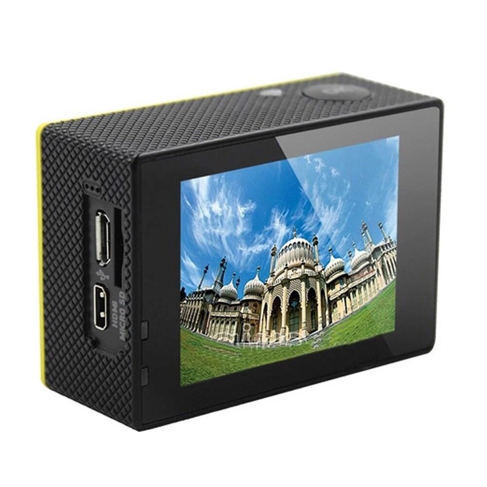 SJ8000 2.0 Inch Sport Action Camera - HD 4K 1080P, Wifi, DV 170 Degree Wide Angle Lens, 30M Waterproof, Remote Blue - 4