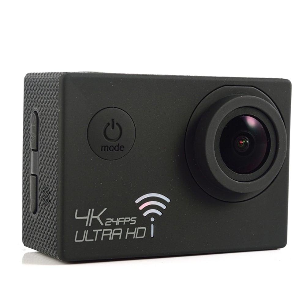 SJ8000 2.0 Inch Sport Action Camera - HD 4K 1080P, Wifi, DV 170 Degree Wide Angle Lens, 30M Waterproof, Remote Yellow - 3
