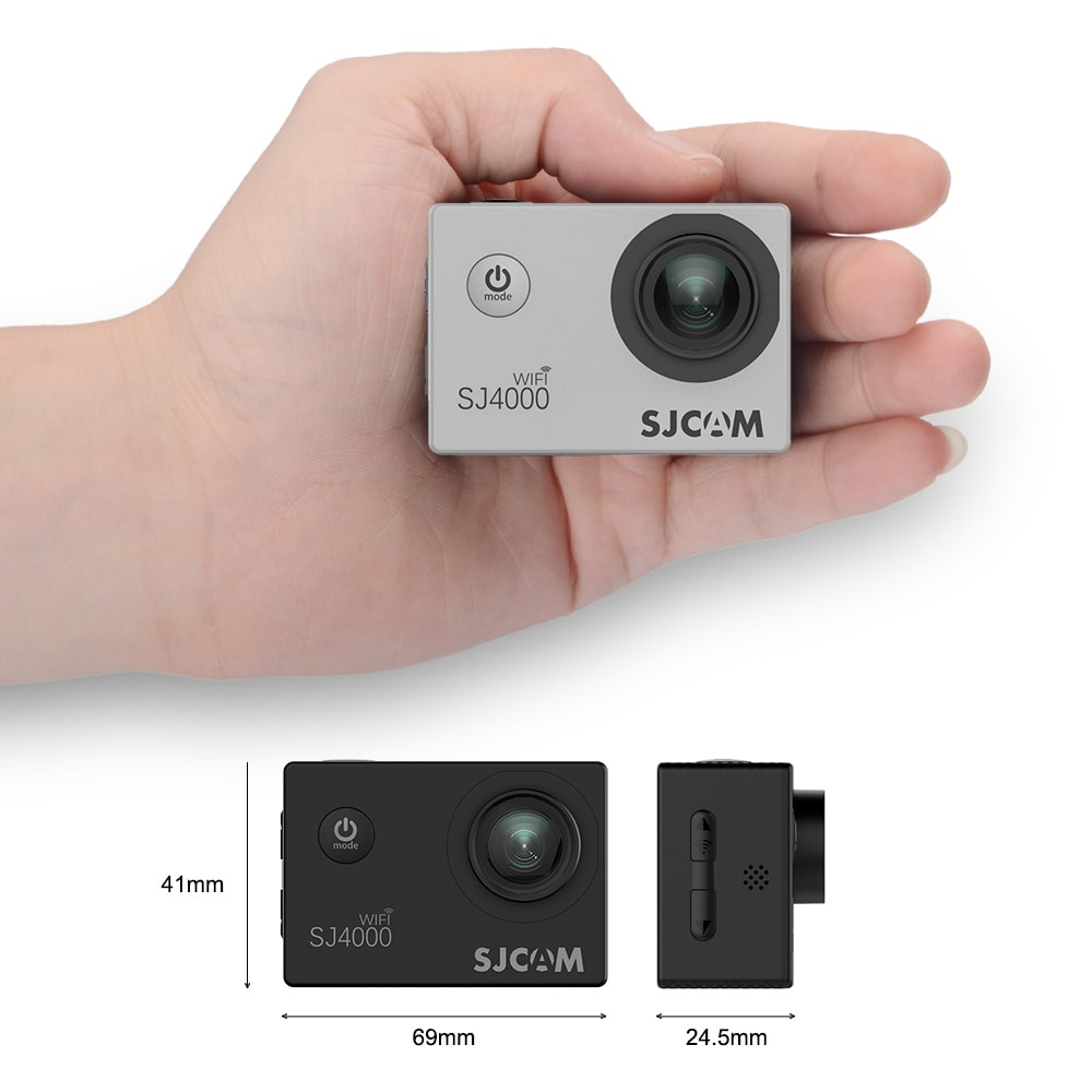 SJCAM SJ4000 WIFI Action Camera FHD1080P waterproof Underwater Camera 12MP Sports Camcorder  White - 4