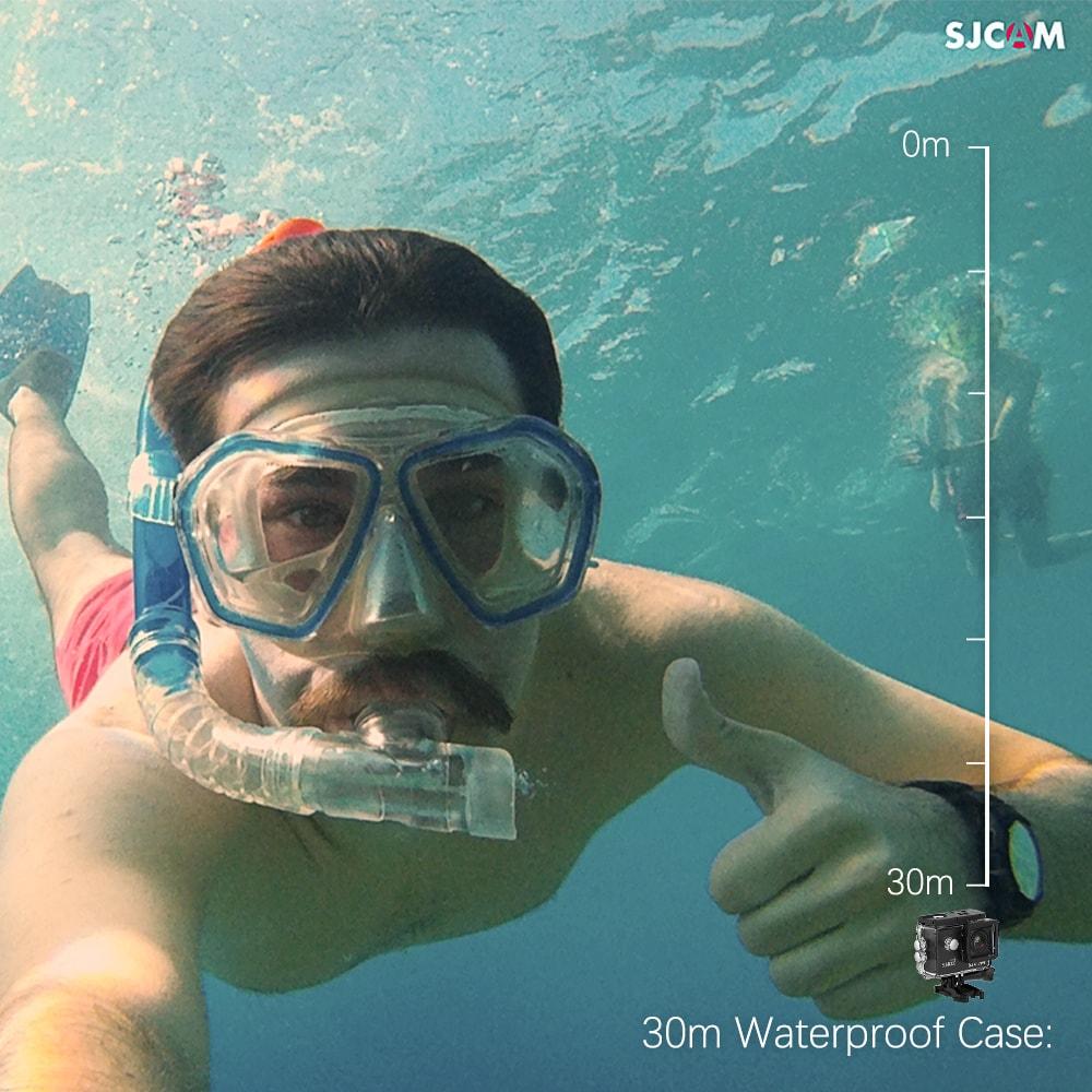 SJCAM SJ4000 WIFI Action Camera FHD1080P waterproof Underwater Camera 12MP Sports Camcorder  White - 6