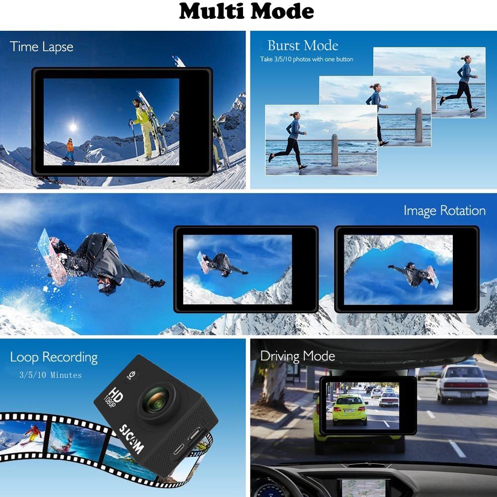 SJCAM SJ4000 WIFI Action Camera FHD1080P waterproof Underwater Camera 12MP Sports Camcorder Yellow - 3