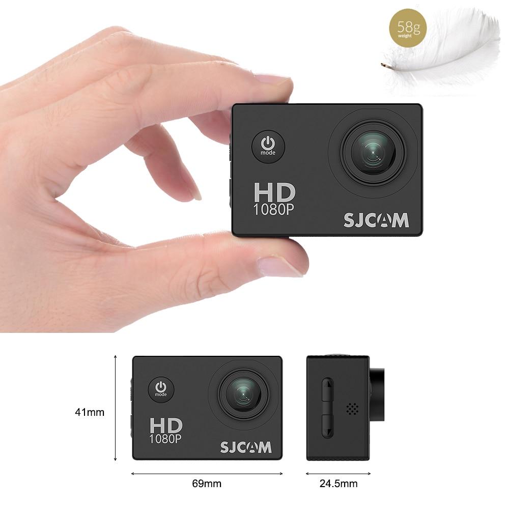 SJCAM SJ4000 WIFI Action Camera FHD1080P waterproof Underwater Camera 12MP Sports Camcorder Yellow - 6