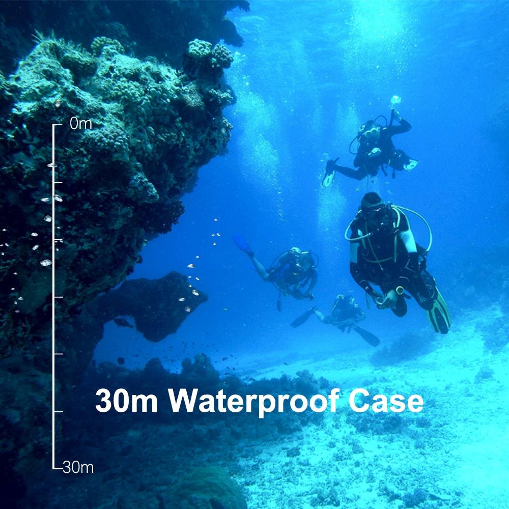 SJCAM SJ5000 Action Camera 14MP 1080p Ultra HD Waterproof Underwater Camera Camcorder White - 3