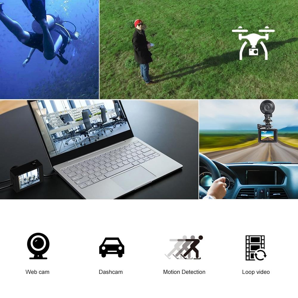 SJCAM SJ5000 WIFI Action Camera 14MP 1080p Ultra HD Waterproof Underwater Camera  Camcorder Black - 5