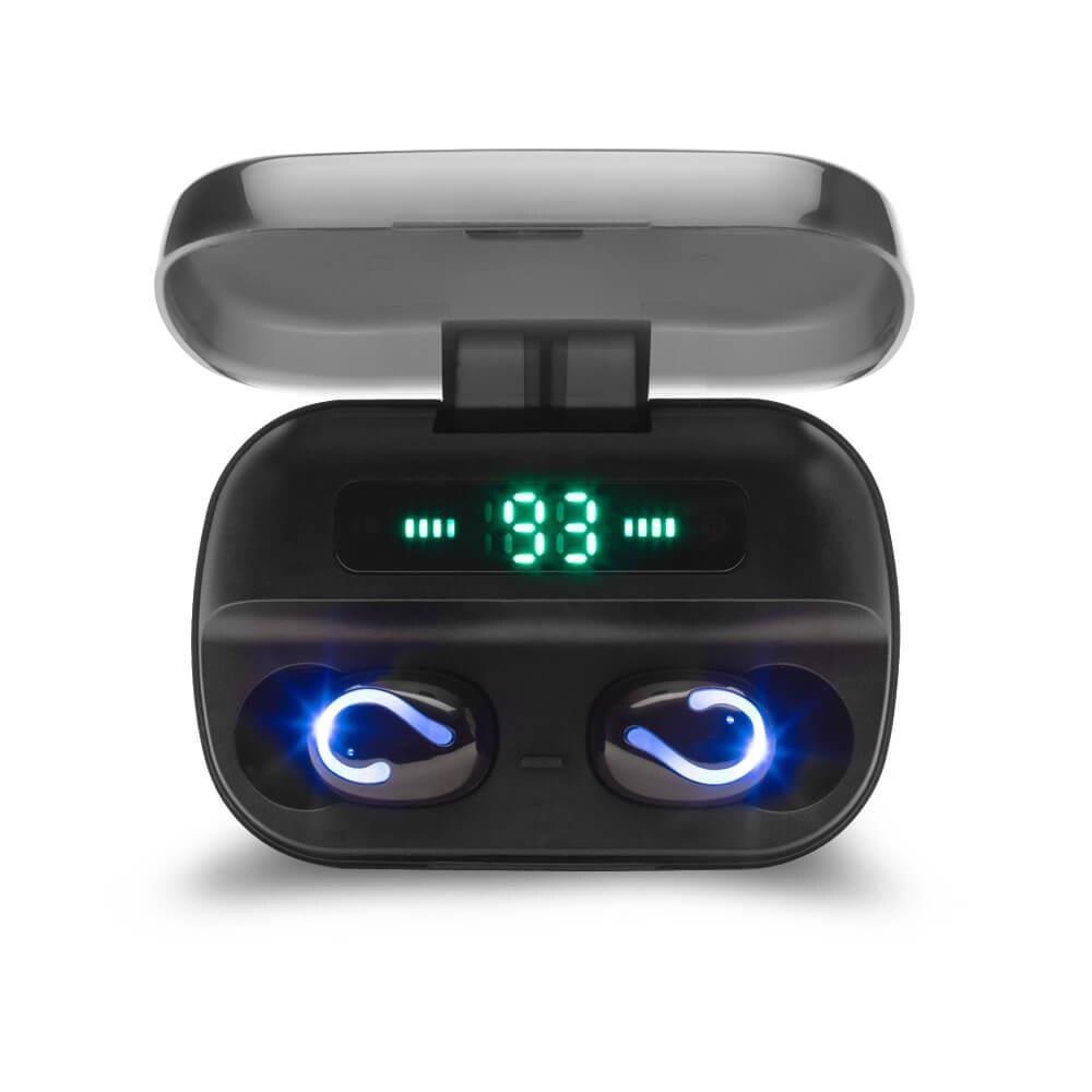 Słuchawki Z Mikrofonem Savio Tws-06 Powerbank Bezprzewodowe Bluetooth + Edr - 1