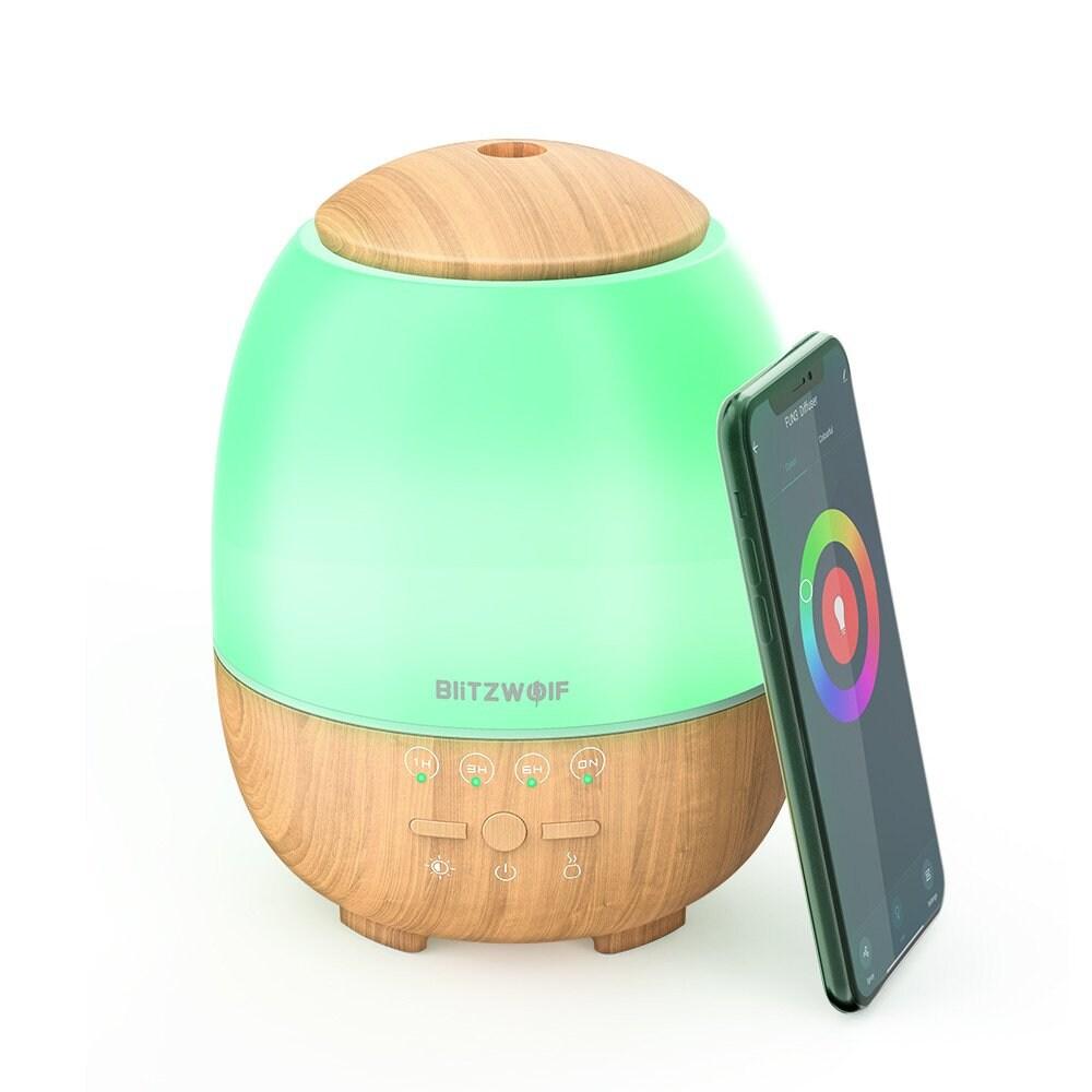 Smart Nawilżacz Powietrza / Aromatyzer Blitzwolf Bw-Fun3, Ultradźwiękowy, Wi-Fi, 400Ml - 1