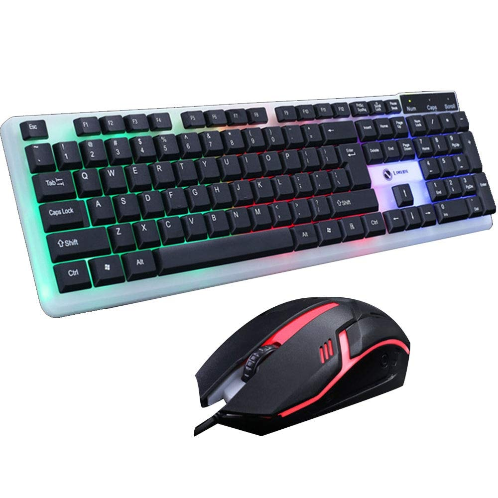 T11 Backlight Mouse and Keyboard Set Gaming Combo - 1