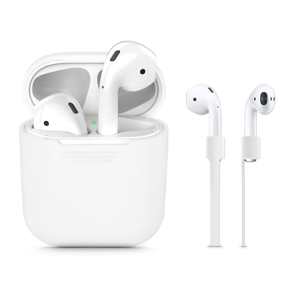 TECH-PROTECT ICONSET APPLE AIRPODS WHITE - 1