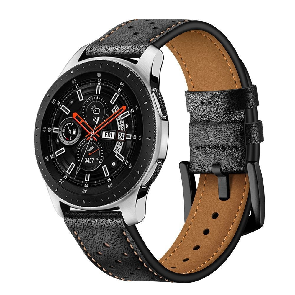 TECH-PROTECT LEATHER SAMSUNG GALAXY WATCH 3 45MM BLACK - 1