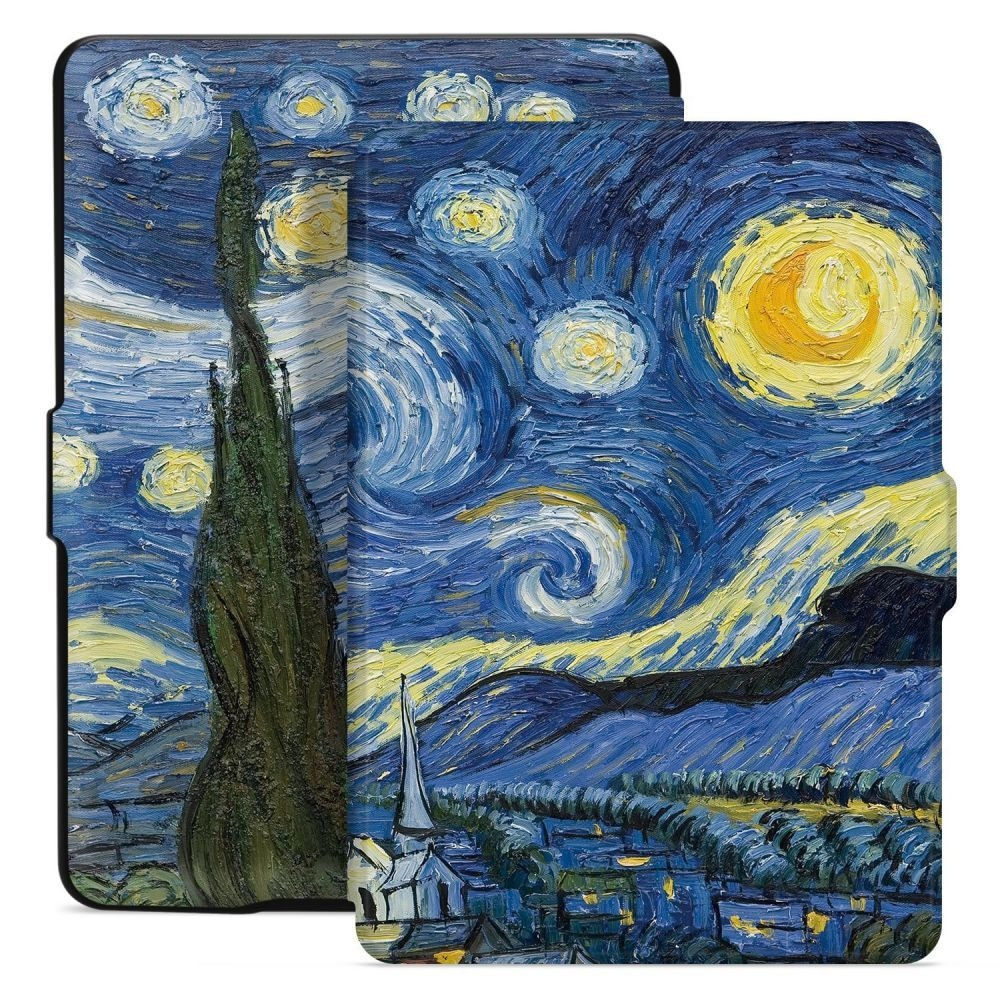 TECH-PROTECT SMARTCASE KINDLE 10 2019 STARRY NIGHT - 1