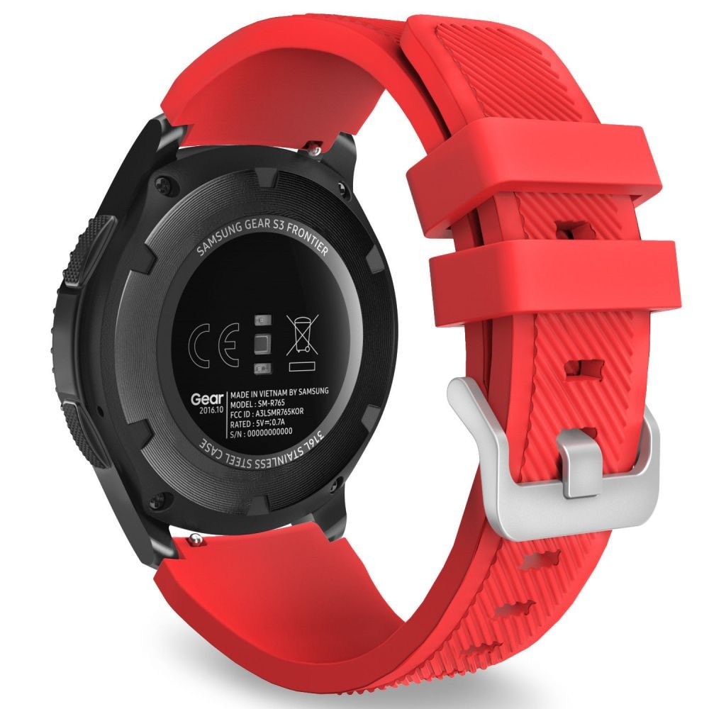 TECH-PROTECT SMOOTHBAND SAMSUNG GALAXY WATCH 46MM RED - 1