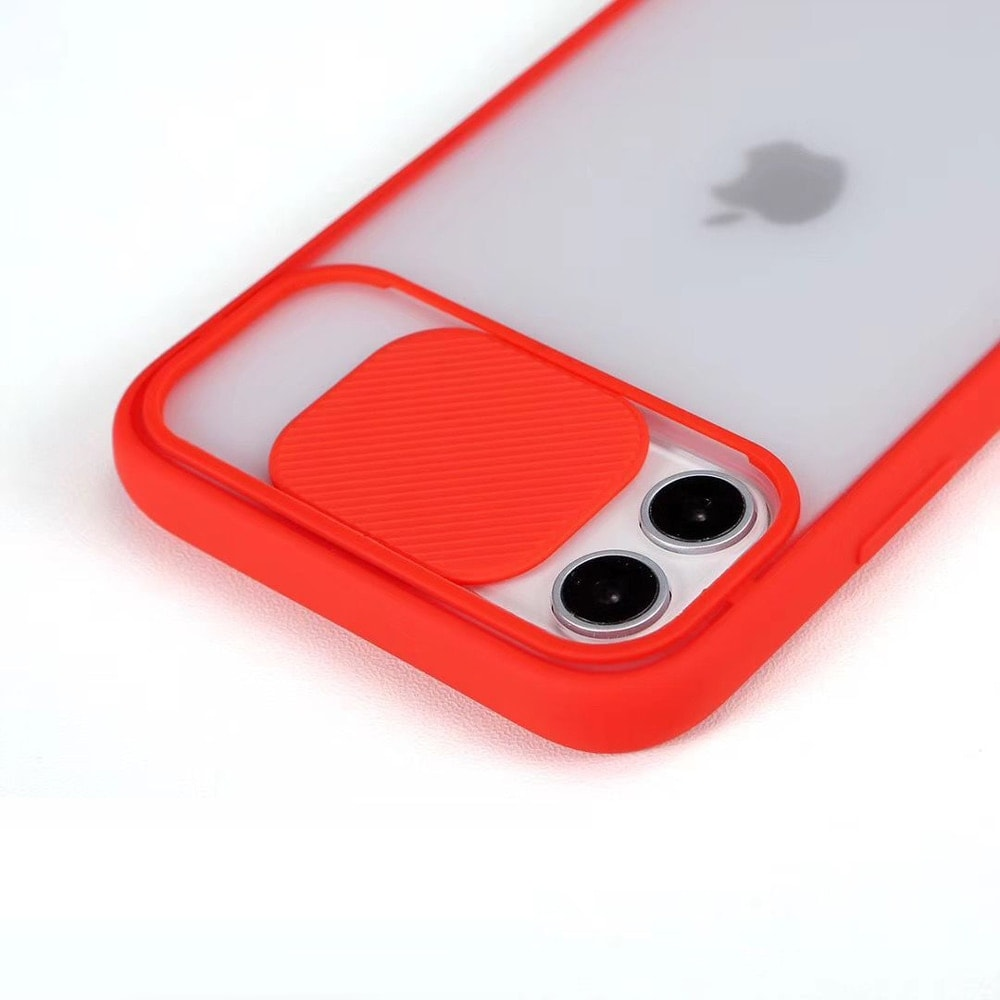 Transparent Iphone Case soft camera cover and lens for Iphone X and XS Black - 5