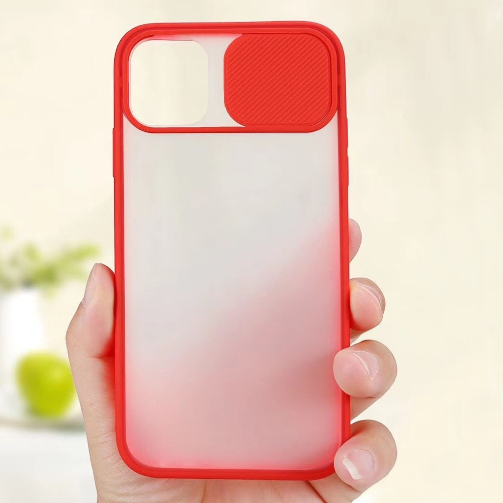 Transparent Iphone Case soft camera cover and lens for Iphone X and XS Dark Blue - 3