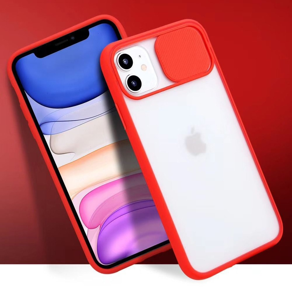 Transparent Iphone Case soft camera cover and lens for Iphone X and XS Green - 4
