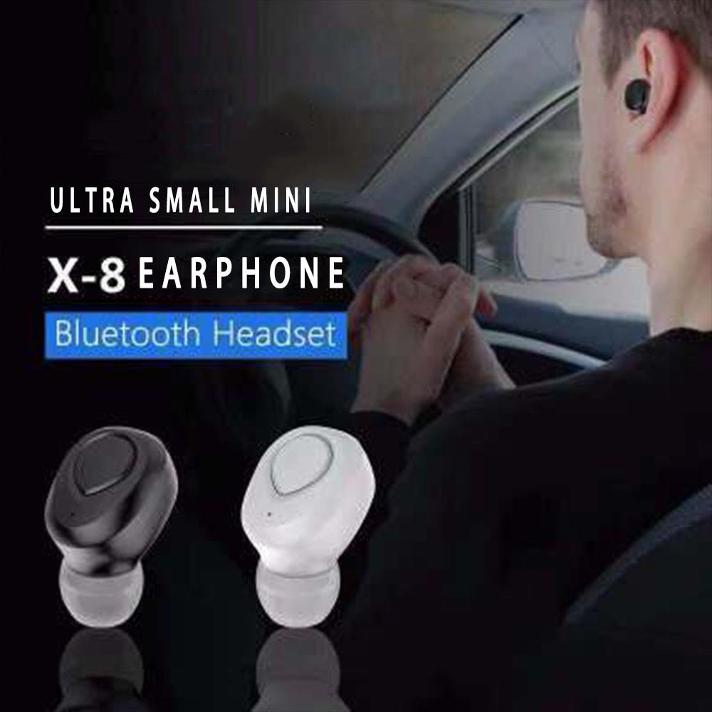 TWS X18s Wireless Headset - Bluetooth Stereo Sound Earphones Sweatproof Headphones Build-in Mic Earbuds Black N/A - 1