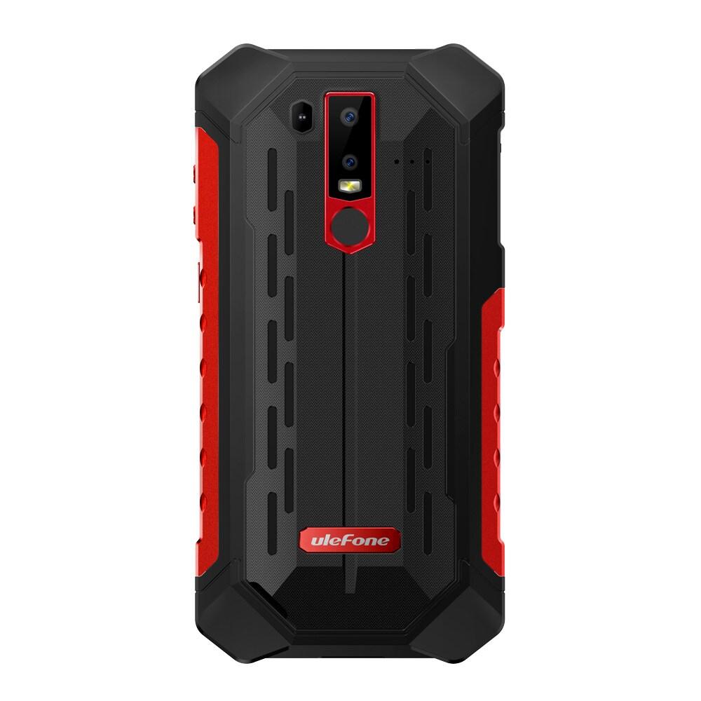 Ulefone Armor 6 4G Phablet - 6.2 Inch, Android 8.1 OS, Helio P60 (MT6771) Octa-core, 6GB RAM 128GB ROM Black - 3