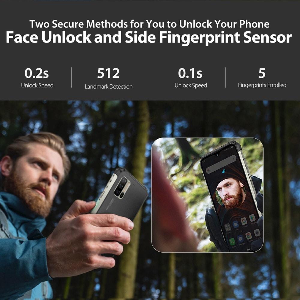 Ulefone Armor 7 Rugged Phone 48MP Camera 8GB+128GB (Black) - 9