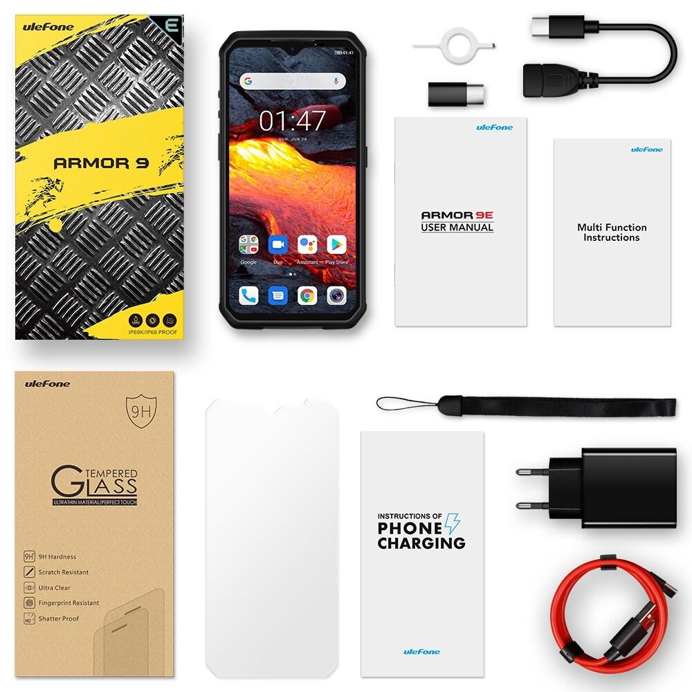 Ulefone Armor 9E Rugged Phone 64MP Camera 8GB+128GB (Black) - 2