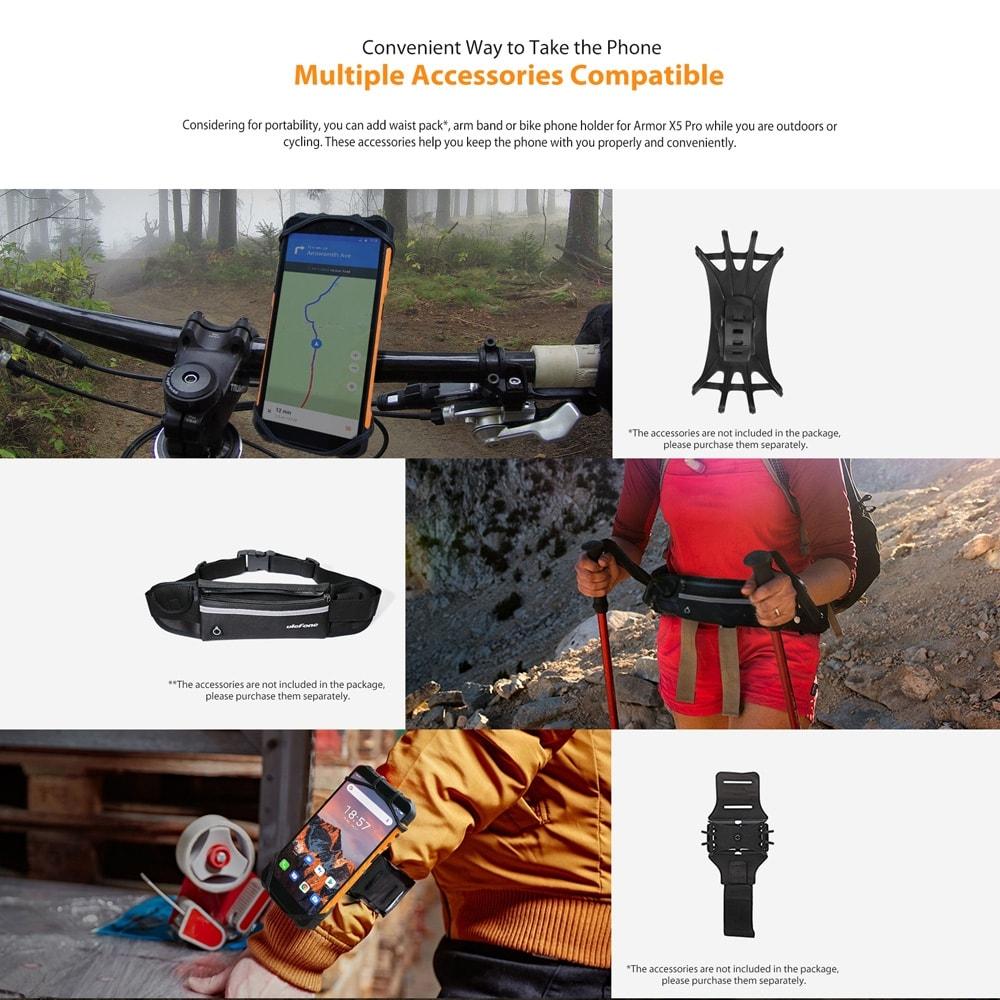 Ulefone Armor X5 Pro Rugged Phone 4GB+64GB (Black) - 6