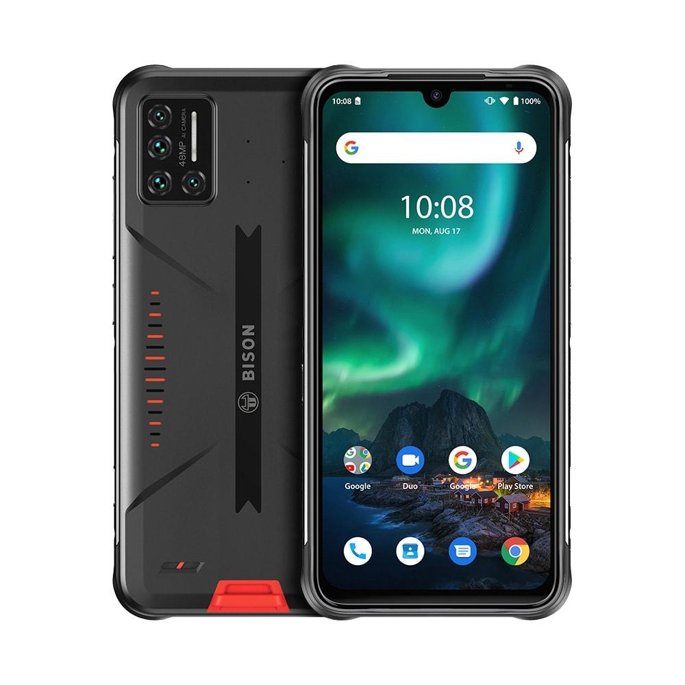 UMIDIGI BISON Rugged Phone, 6GB+128GB (Orange) Orange 128 GB 6 GB - 1