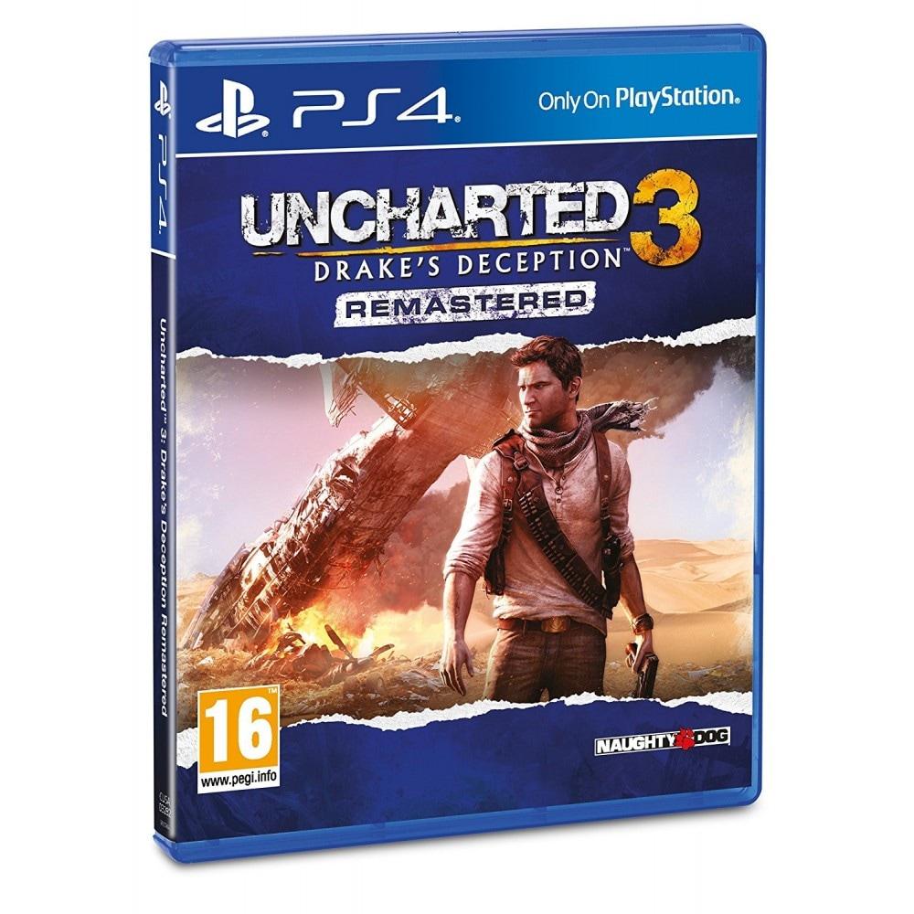 Uncharted 3: Drake's Deception Remastered PS4 (EU PEGI) (deutsch) [uncut] - 1